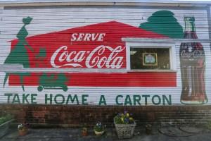 Raleigh Murals Coca Cola