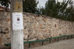 Notice. Near the village of Krumovo