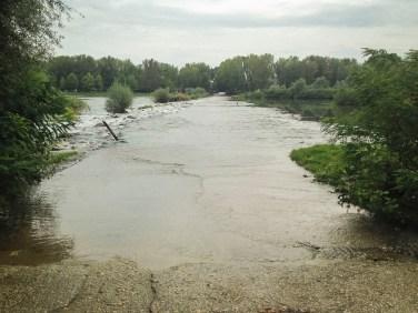 River flood between Marasias and Kastanies