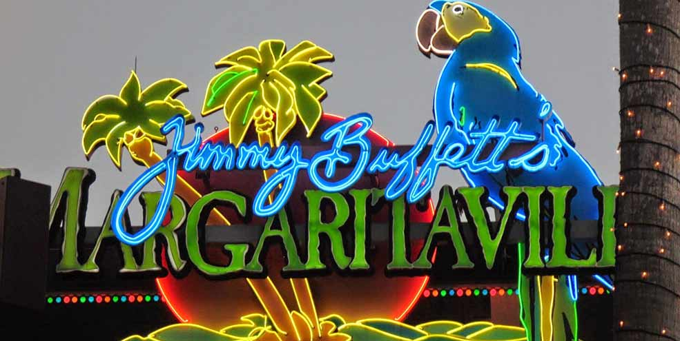 jimmy buffet margaritaville sign