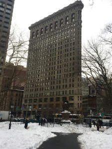 A Wintery Afternoon in New York's Flatiron District