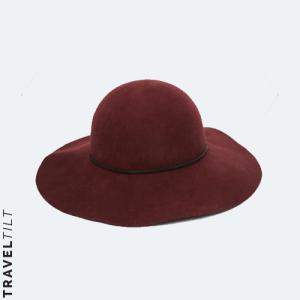 ASOS Skinny Band Felt Floppy Hat