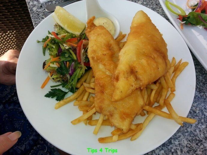 A review of the Watermark Restaurant in Perth, western Australia
