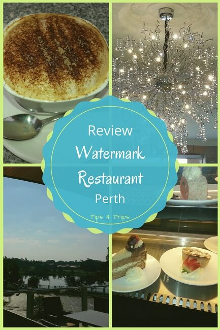 A review of the Watermark Restaurant in Perth, western Australia at the Internatinal on the Water Hotel.