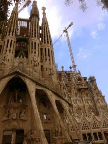 Sagrada Familia church is finally going to be finished in 2026 for the architect's death centenary , -more than 128 years under construction. -My client is in no hurry- Antoni Gaudí said, referring to God