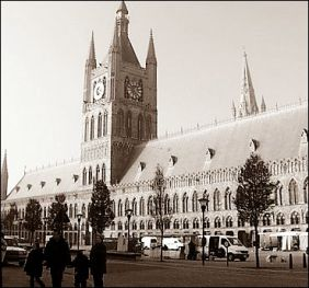 Ypres in Belgium before the war