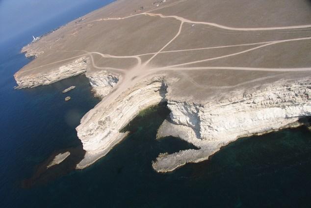 Crimea windsurfing
