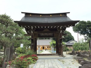 願成寺の山門