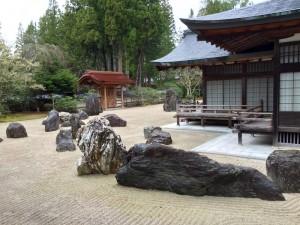 金剛峯寺の蟠龍庭