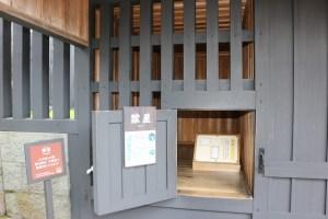 箱根関所の牢屋
