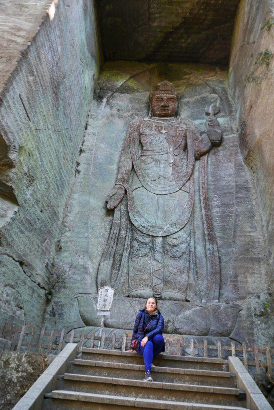 Traveltothemoonandback japon japan travel blog voyage MontNokogiri bouddha