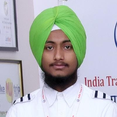 Gurpreet Singh - Travel Business - Salary 20000