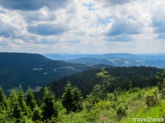 on the road from Freudenstadt to Baden Baden