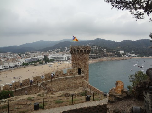Platja Gran- view from the Old Town