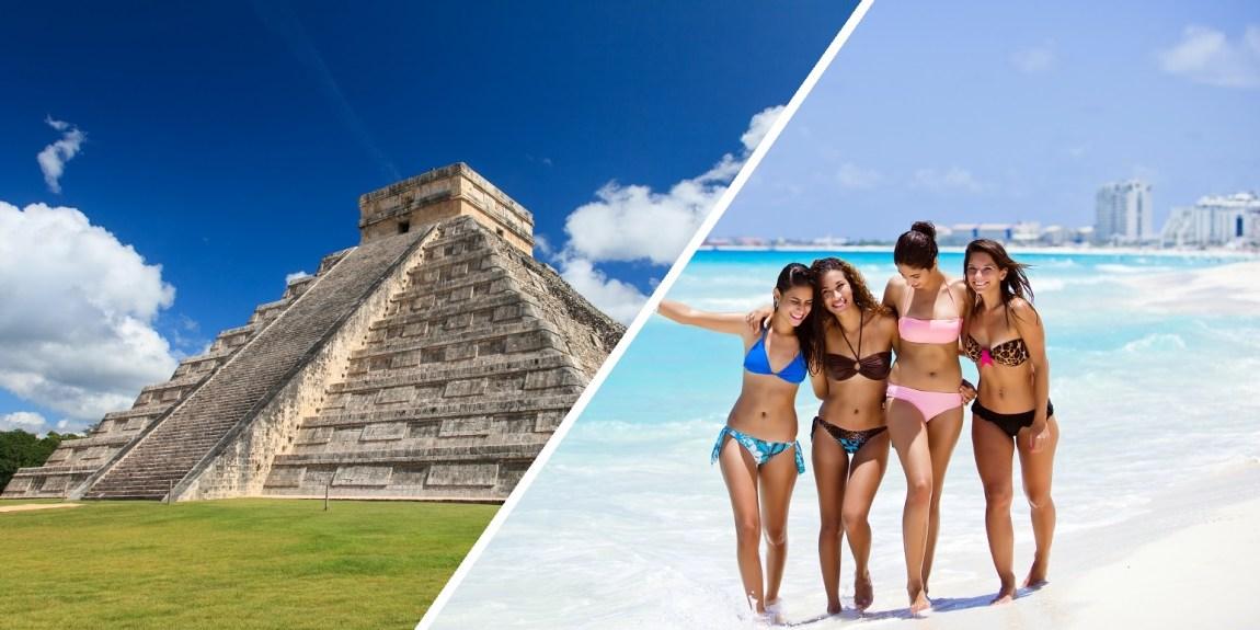 Reizen naar Mexico is op dit moment heel goedkoop. Mexico is 1 van de goedkope reisbestemmingen van dit jaar