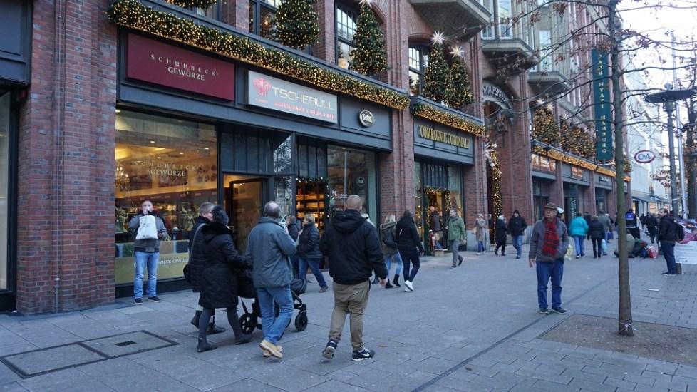 Winkelen met Kerst in Hamburg