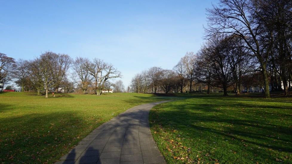 Alter Elb Park in Hamburg