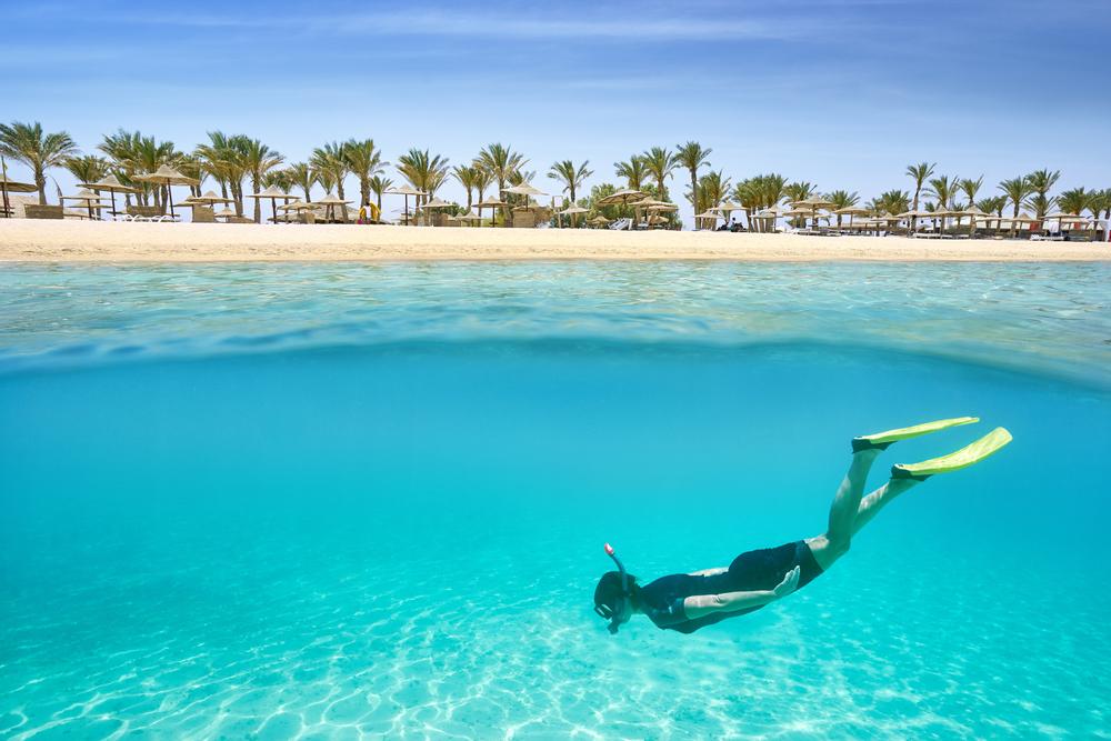 Snorkelen of duiken in Egypte, Egypte is 1 van de goedkoopste bestemmingen van dit jaar