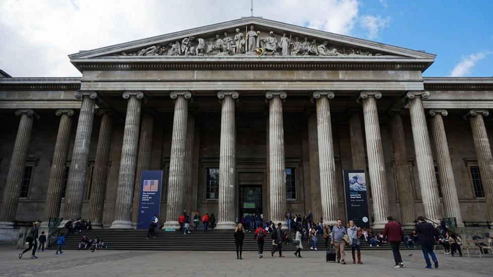 British Museum in Londen