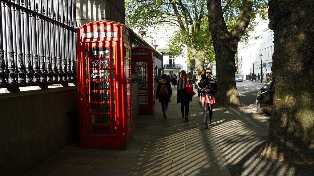 Rode Telefooncel in Londen