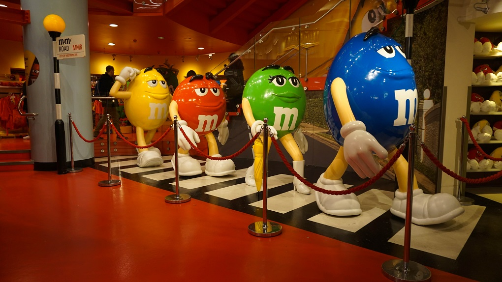 M&M store in Londen