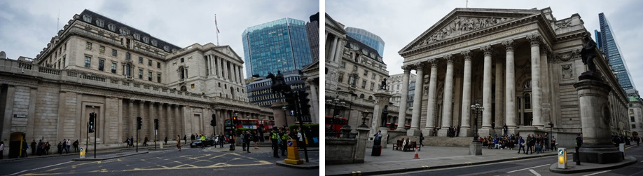Royal Exchange & Bank of England
