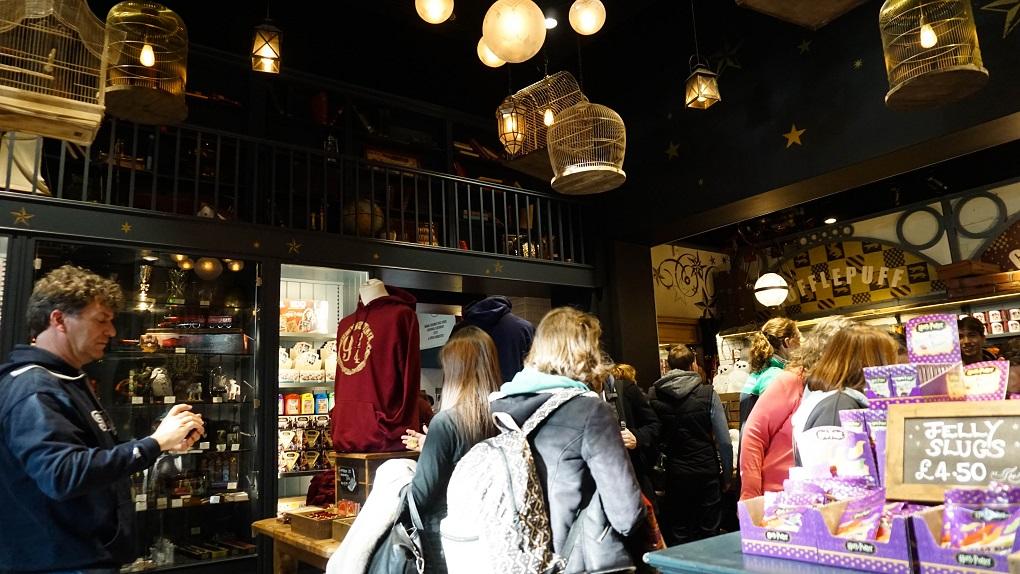 Harry Potter winkel in Londen