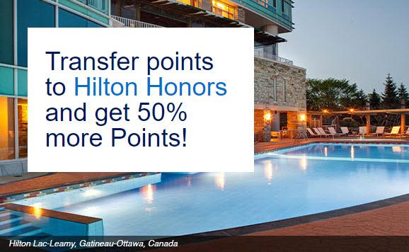 Membership Rewards to Hilton Honors