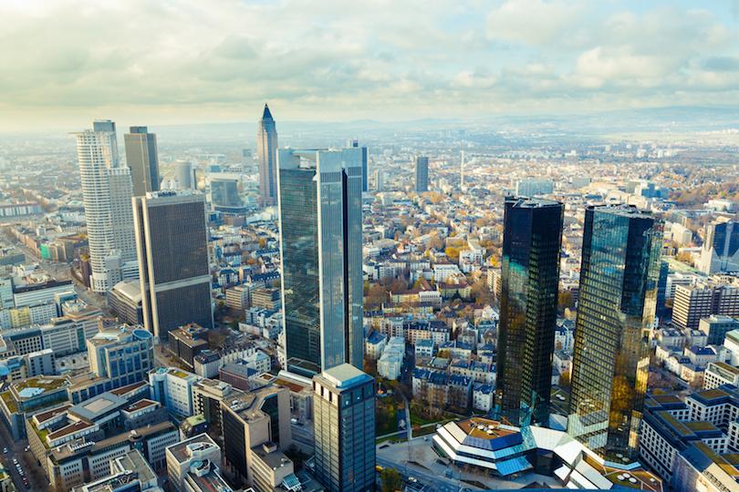 Frankfurt skyscrapers