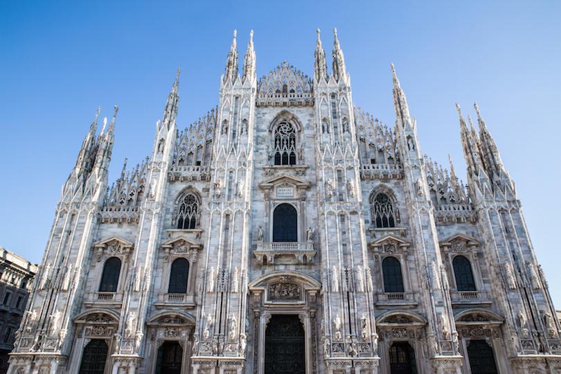 Milan Cathedral (Duomo di Milano), Lombardy, Italy