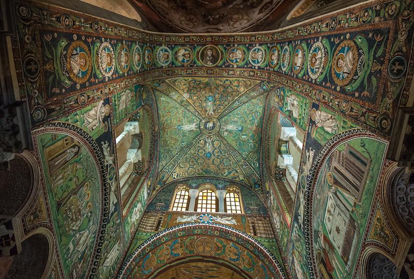 Mosaics of Basilica of San Vitale, Ravenna, Italy
