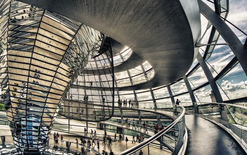 Reichstag Inside