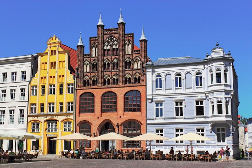 Stralsund Marktplatz