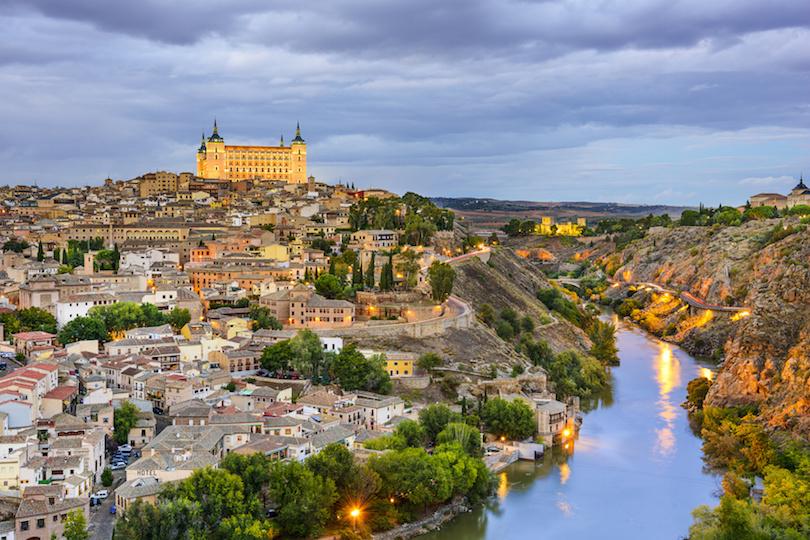 Toledo, Spain on the Tagus River