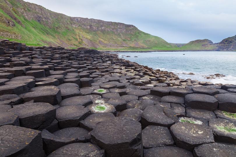 Giant's Causeway along the Northern Ireland coast