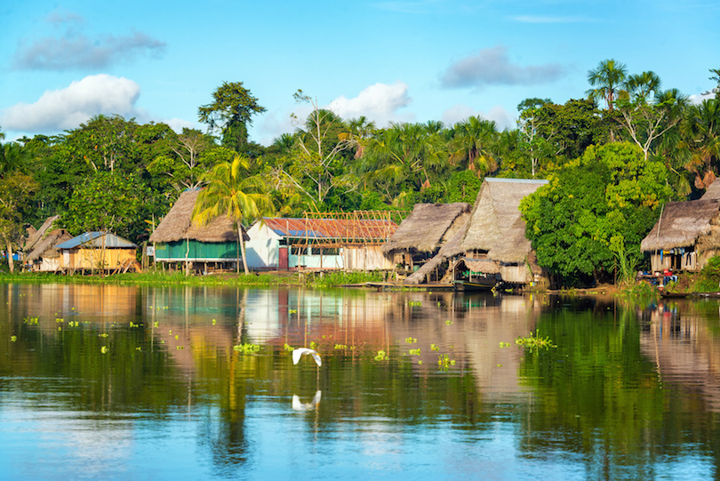 Amazon Jungle Village