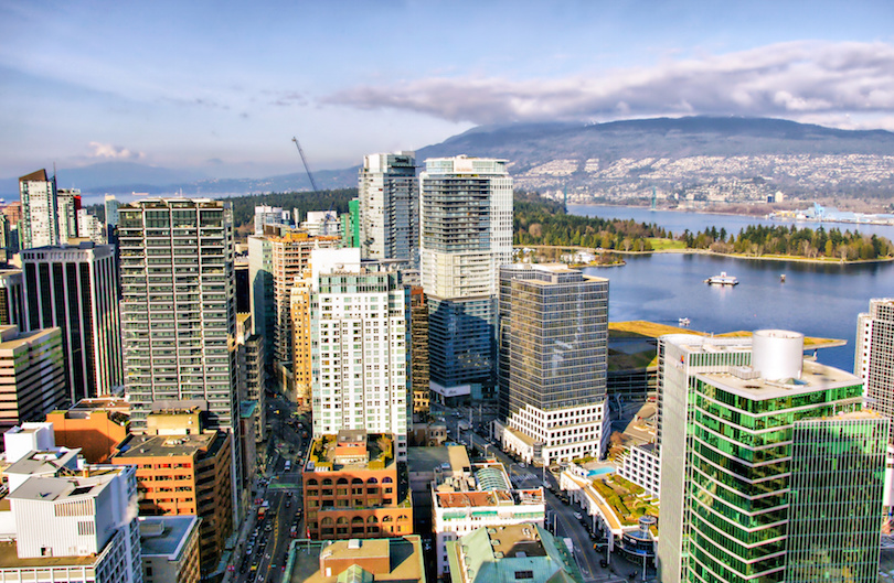 Vancouver Skyline, British Columbia