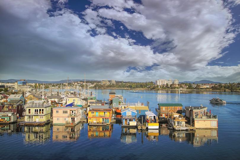 Victoria BC Fishermans Wharf