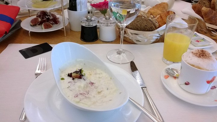 Breakfast Dolder Grand Zurich