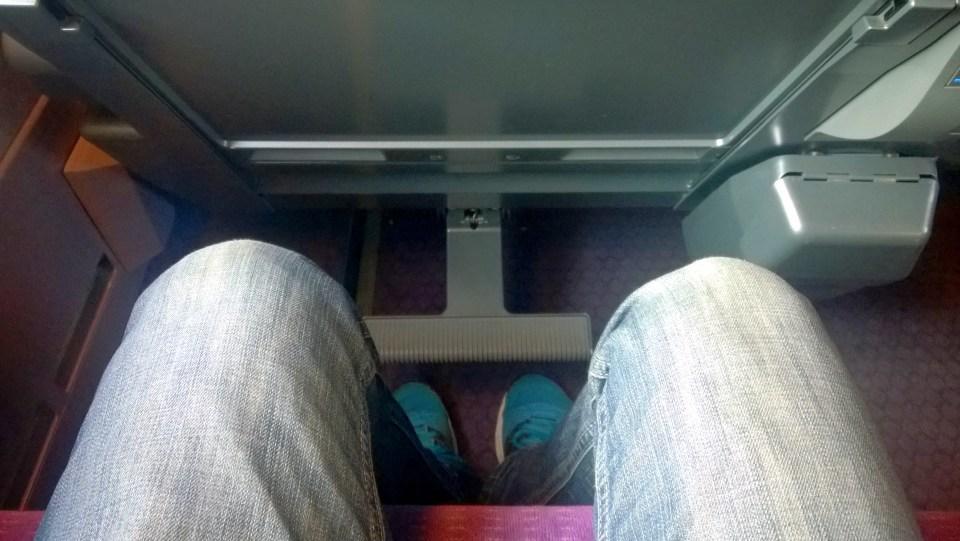 Seat Pitch TGV