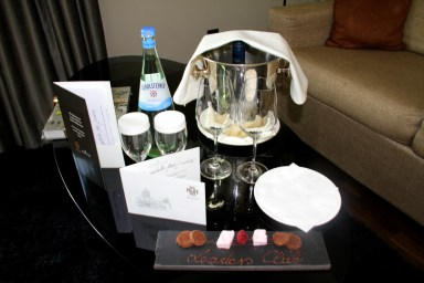 Club Suite Hotel Palace Berlin Welcome Treatment