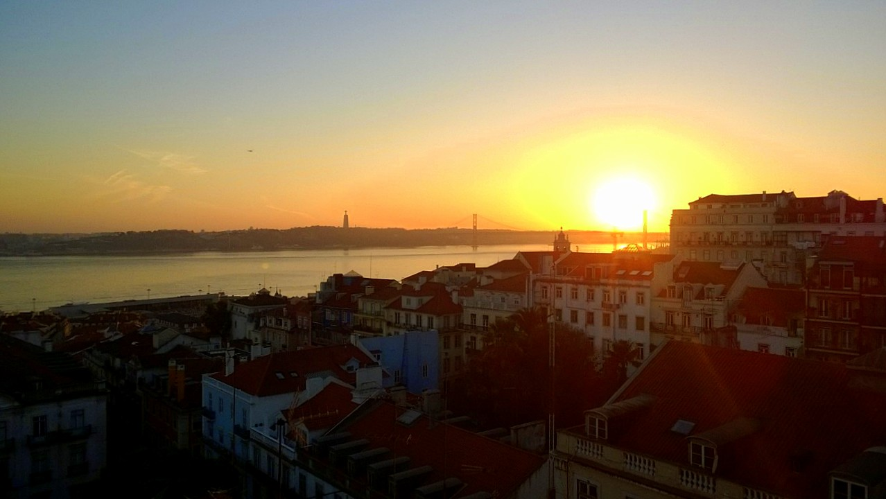 Bairro Alto Hotel Lisbon Sunset