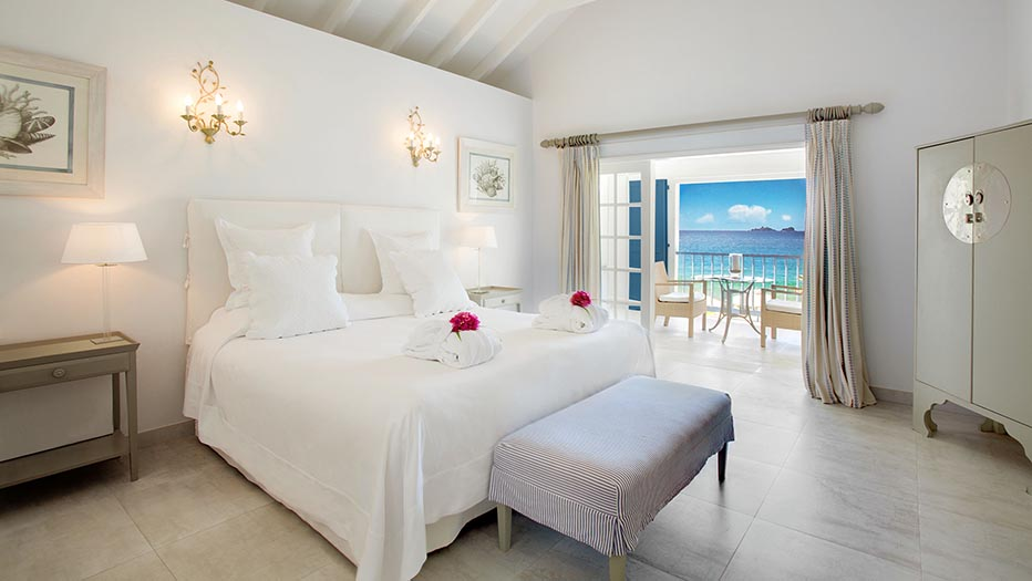 Beach Rooms offer perfect views on the sea