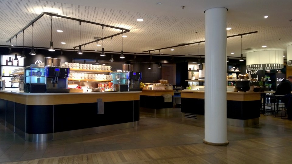 SAS Business Class Lounge in Copenhagen