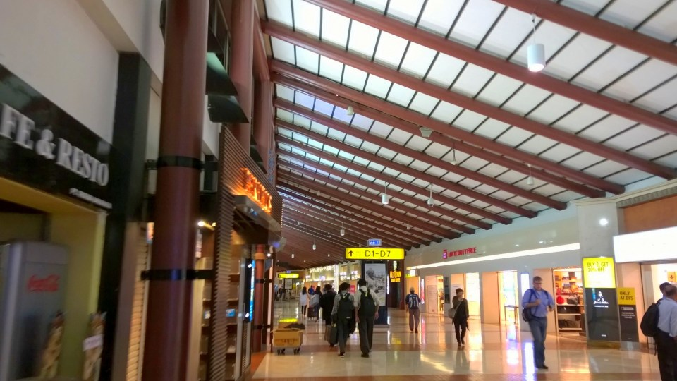 In Terminal 2 there are many shops