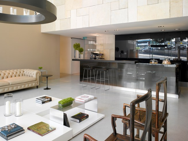 Espresso Bar at the Mamilla Hotel (Image Source: The Leading Hotels of the World / lhw.com)