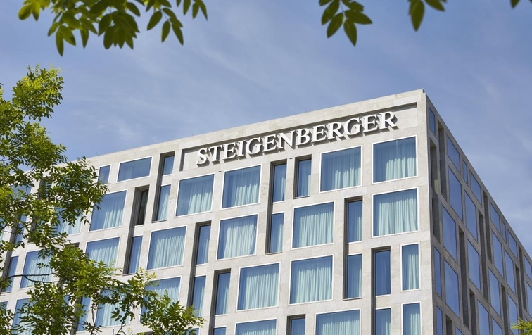 Exterior of the Hotel (Image Source: Steigenberger Hotel Am Kanzleramt / steigenberger.com)
