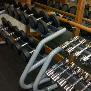 All kinds of free weights