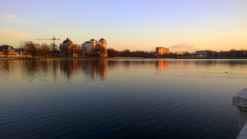 Running in Kaliningrad