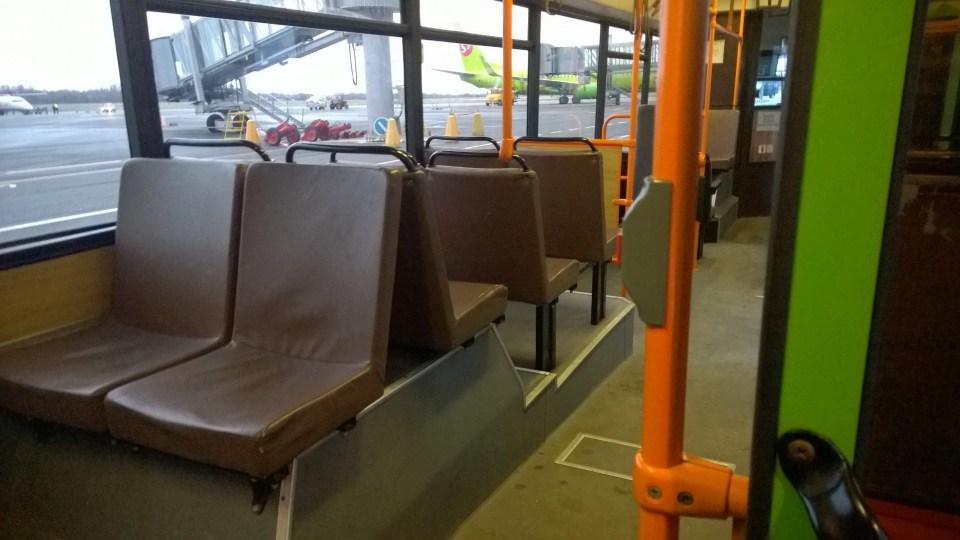 Public transportation is rarely modern in Kaliningrad